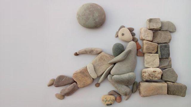 石头艺术品
