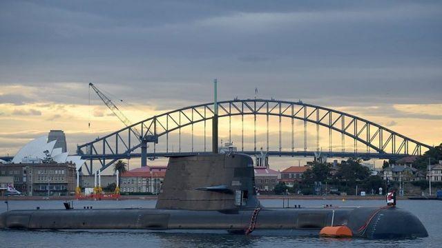 Автстралийская подводная лодка