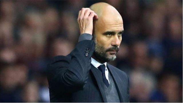 Pep Guardiola agereranya urukino hagati ya Man City na Barcelone nk'urwa nyuma