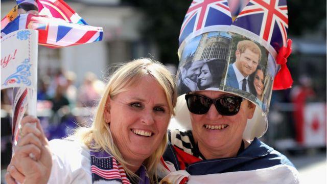 Королевская свадьба - магнит для туристов, особенно американских
