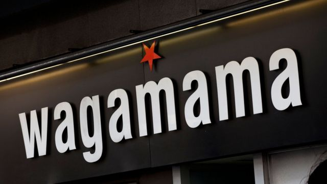 Wagamama sign