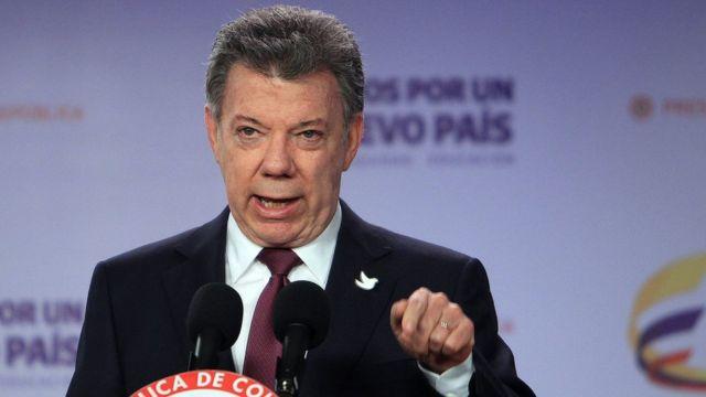 Juan Manuel Santos se dirige a los colombianos