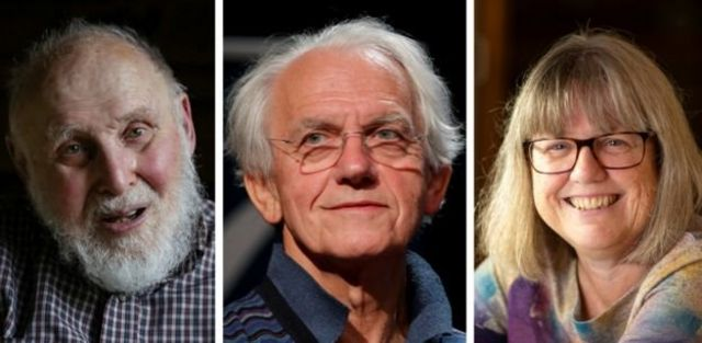 Arthur Ashkin, Gerard Mourou y Donna Strickland