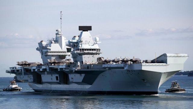 英國皇家海軍伊麗莎白女王號(HMS Queen Elizabeth)