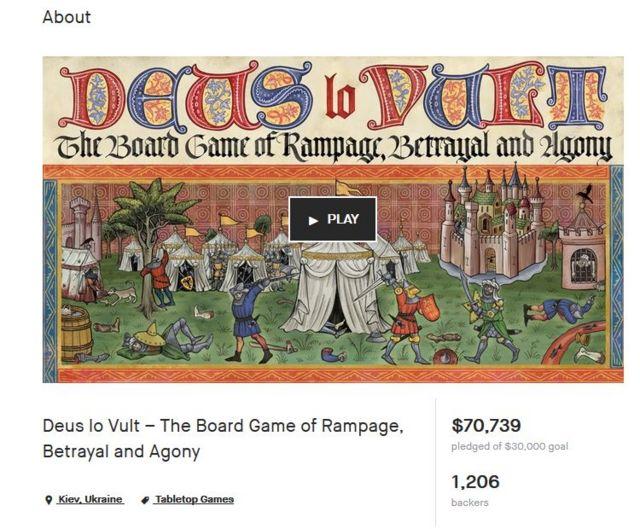 Создание игры на сайте финансово поддержали более 1,2 тыс. людей со всего мира