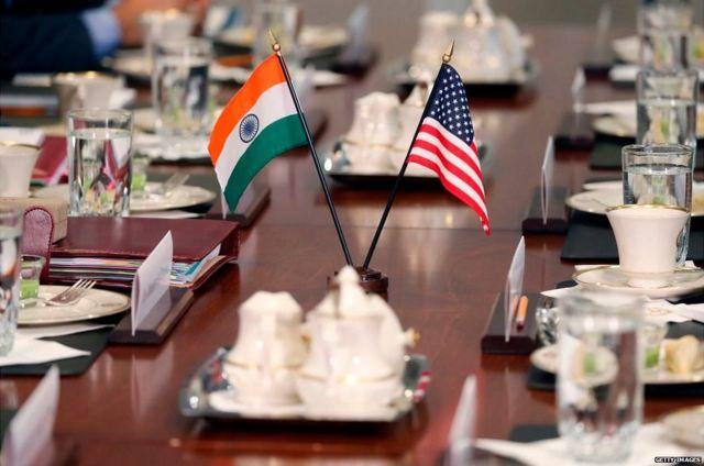 भारत,अमरीका