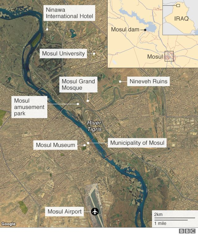 Battle for Mosul: Operation to retake Iraqi city from IS begins