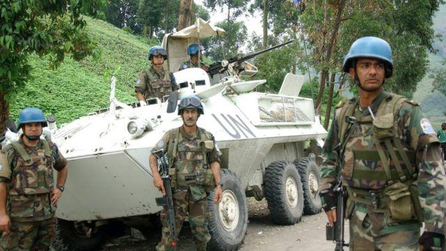 Миротворцы в Конго