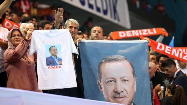 AKP taraftarları