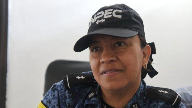 Teniente Gloria Amparo Martínez