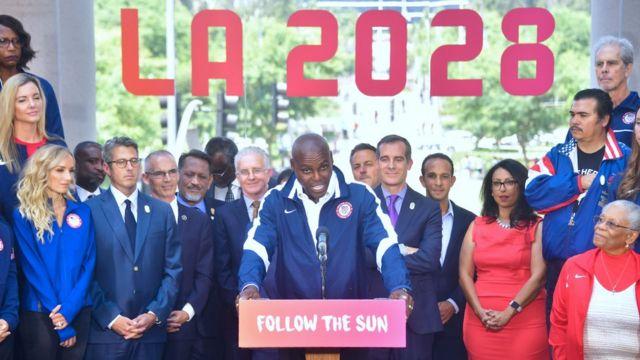 Los Angeles, Olimpiade, Carl Lewis