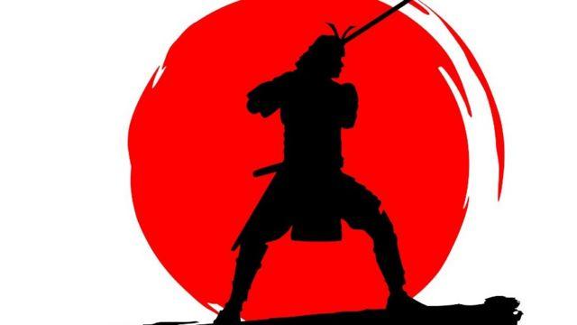 Ilustración de un samurái
