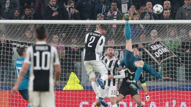 Ifẹsẹwọnsẹ Juventus pẹlu Madrid