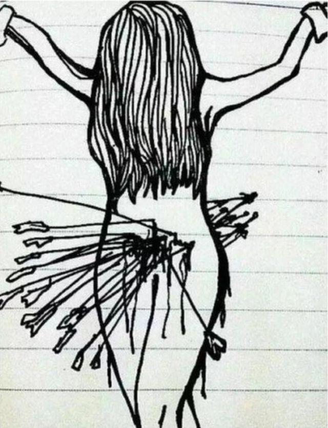 menstruasiya ağrısı fotosu