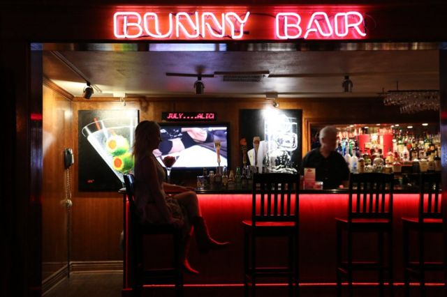 Interior del burdel Bunny Ranch.