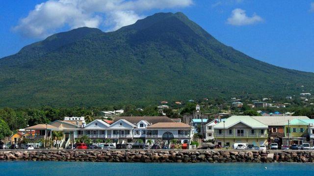 尼维斯,加勒比(图片来源:Peter Phipp/Travelshots.com/Alamy)