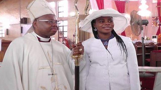 Bishop Alex Ibezim, Bishọp ndị Anglịkan na Ọka Dayasis na nwunye ya
