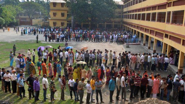 انڈیا میں انتخابات کا دوسرا مرحلہ