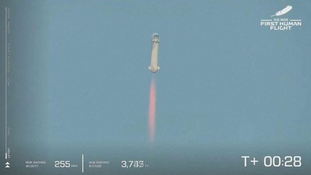 Lanzamiento del New Shepard