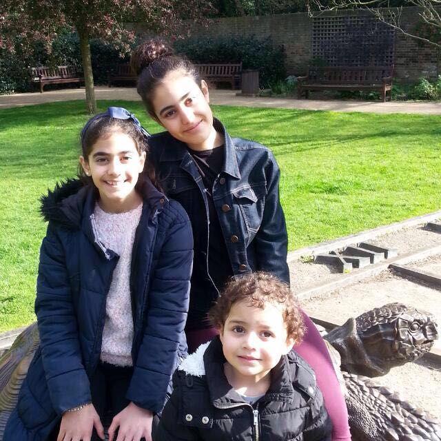 Mirna, Fatima and Zainnb