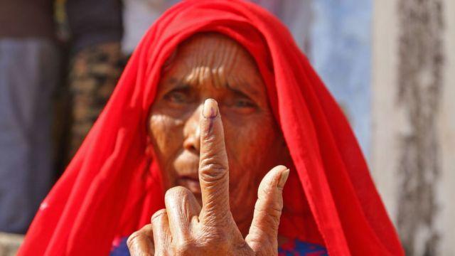 महिला मतदाता