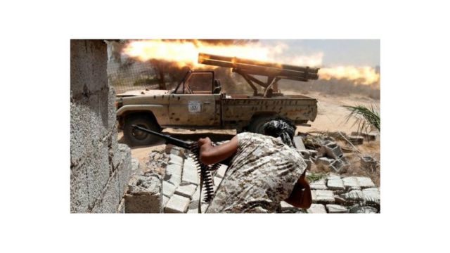 Libye combats
