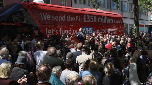 El bus de Vote Leave