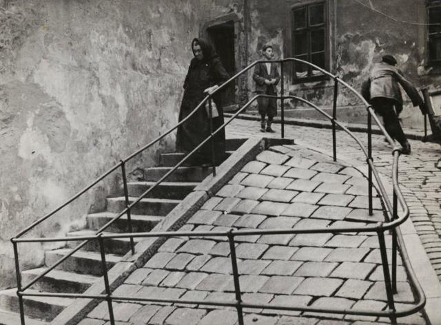 Еврейский квартал в Братиславе. 1935-1938 гг.
