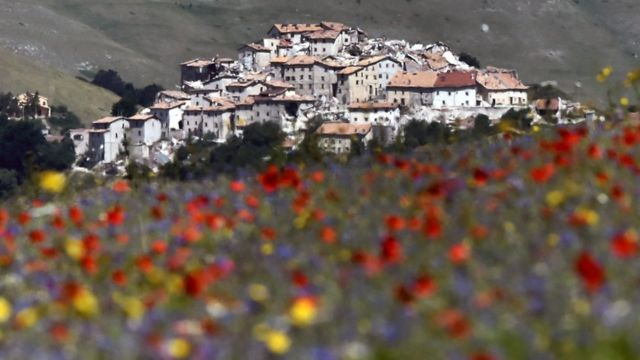Italian tourist treasure turned into ghost town by earthquake