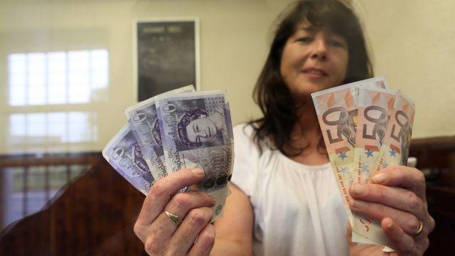 Euros y Libras