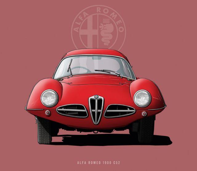 "Alfa Romeo 1900 C52 - ""Disco Volante"""
