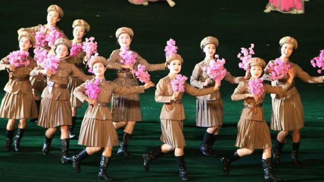 2007년 북한 '아리랑' 공연