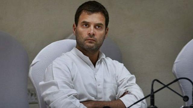 कांग्रेस उपाध्यक्ष राहुल गांधी.