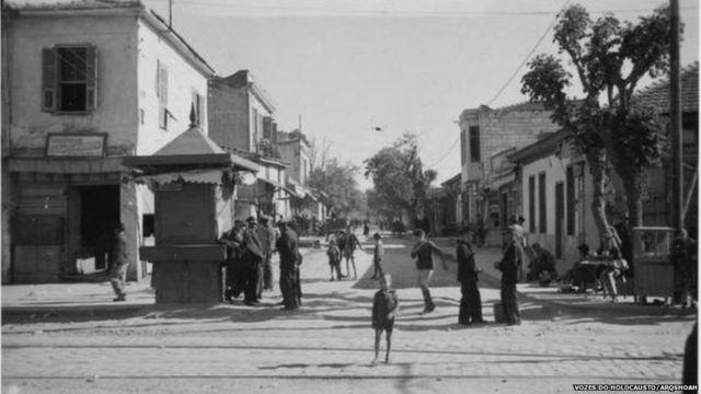 Gueto judaico em Tessalônica