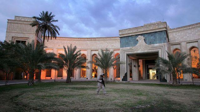 السفارة الأمريكية في بغداد (أرشيفية)