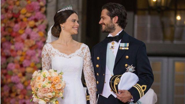 Шведский принц Карл Филипп и София Хелльквист