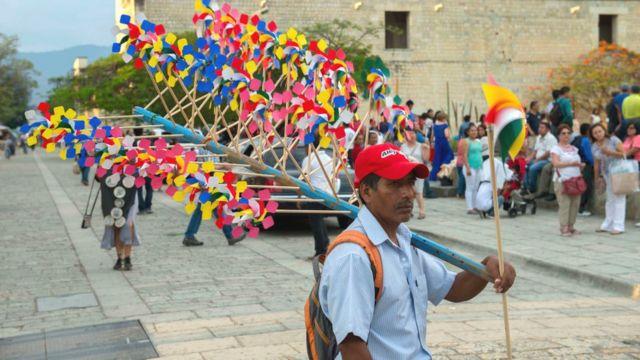 Vendedor en México