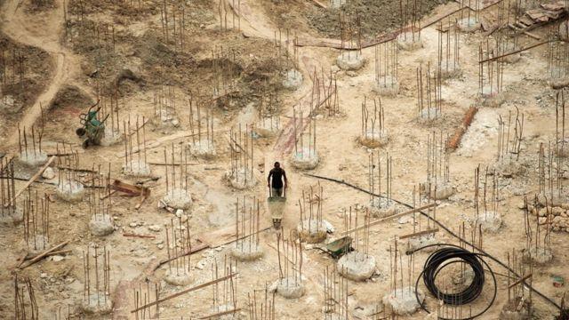 tanzanya'da bir inşaat