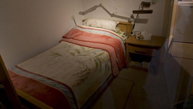 السرير الذي كان ينام عليه عرفات