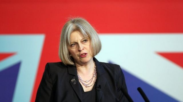 Theresa May in 2012