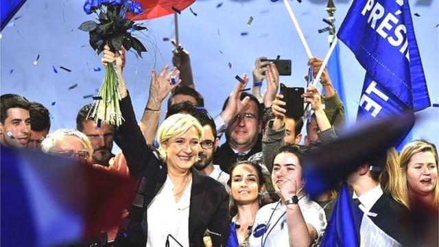 Marine Le Pen fait peur à une partie de l'électorat français.