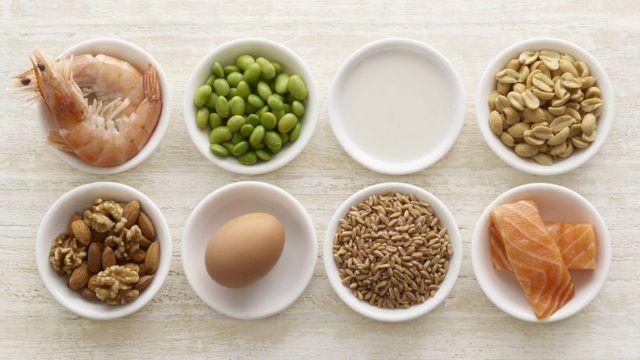 Alimentos que causam alergia em potinhos