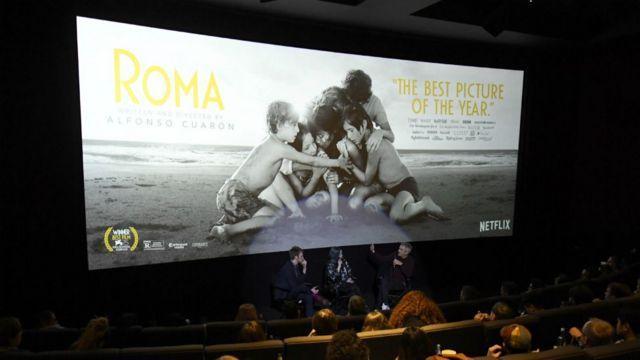 """Cartel de la película """"Roma"""""""