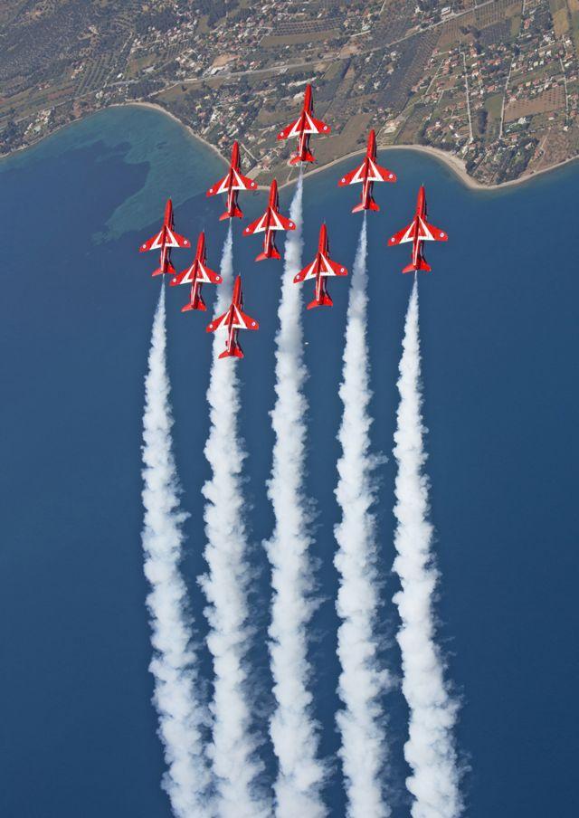 The Royal Air Force Aerobatic Team (RAF