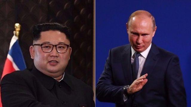 Putin na Kim Jong-Un