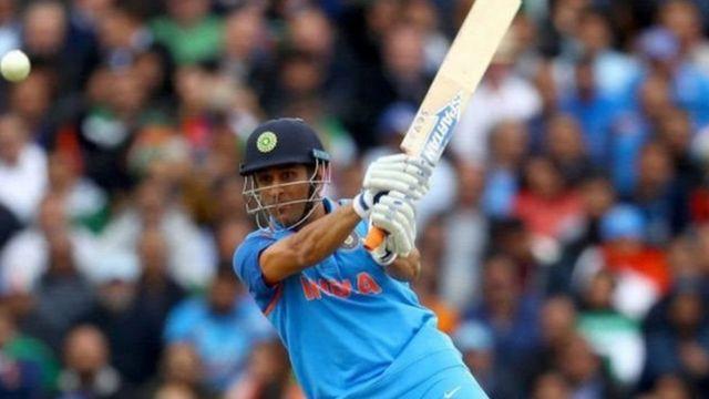 ભારતીય ક્રિકેટર મહેન્દ્રસિંહ ધોની