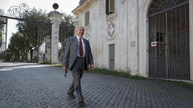 パオロ・サボーナ氏は最終的に入閣することとなったが、経済相のポストは得られなかった
