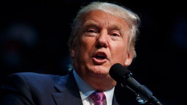 Trump yavuze ko abimukira bo muri Mexique ari inkozi z'ikibi kandi bafata abapfasoni ku nguvu