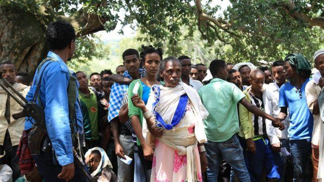 Murtee-ummataa Gondar irratti namoota hirmaatan