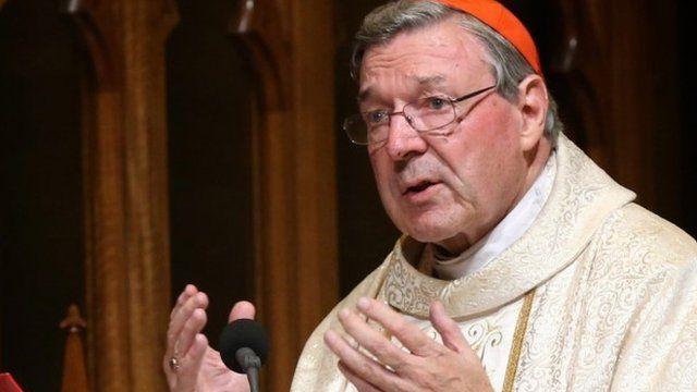 Cardinal Pell in 2014